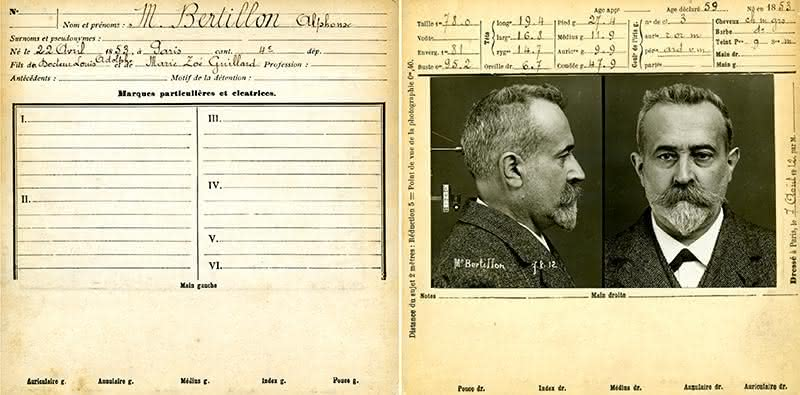 alphonse bertilon Like hans gross and alphonse bertillon before him,  locard's exchange principle, which states that with contact between two items, there will be an exchange.