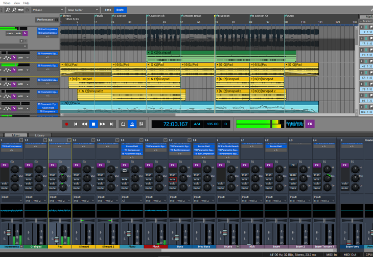 Acoustica Mixcraft 9 Pro Studio - program DAW dla Windows