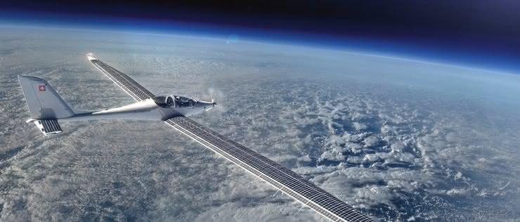 Pierwszy lot elektrycznego samolotu stratosferycznego