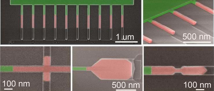 Nanokable z półprzewodników