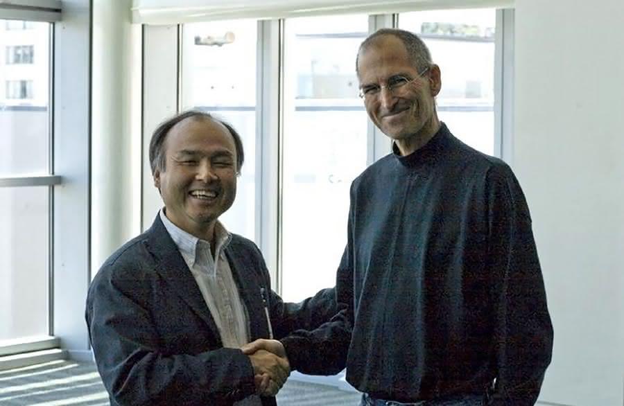 Masayoshi Son i Steve Jobs