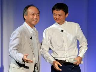 Masayoshi Son i Jack Ma
