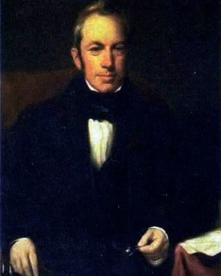 Robert Brown (1773-1858), portret pędzla H.W. Pickersgilla